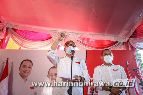 """Paparkan Visi """"Kerja untuk Surabaya"""" di Perkampungan, Ini Maksud Eri Cahyadi"""