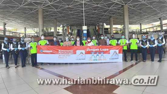 Kantor Otoritas Bandara III Kampanyekan Keselamatan Penerbangan