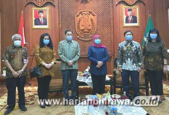 Gajah Tunggal Group Sumbang Pemprov Jatim 100 Ribu Masker