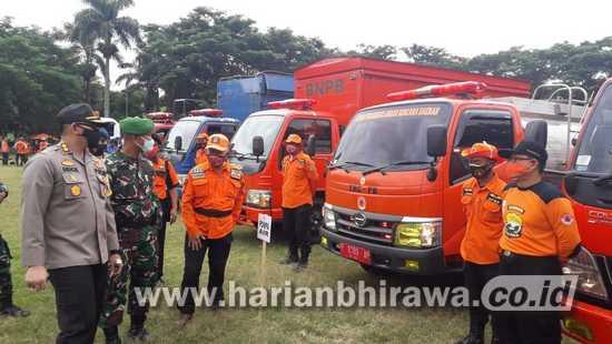 Waspadai Bencana Hidrometeorologi, BPBD Bondowoso Apel Siaga Darurat