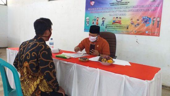 Di Sumenep, 107 Relawan Demokrasi Ikuti Tes Wawancara