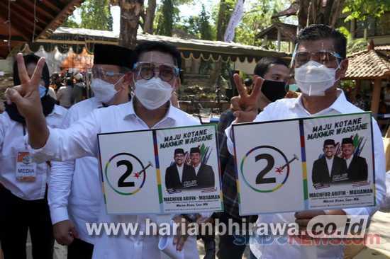 Paslon 2 Machfud-Mujiaman Siapkan 12 Ribu Saksi Tangguh Maju