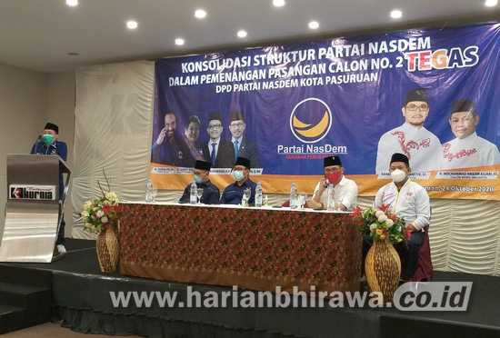 Hasan Aminudin Bakar Semangat Kader dan Relawan TEGAS untuk Menang di TPS