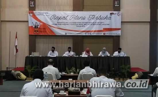 KPU Tetapkan DPT Pilwali Kota Pasuruan Berjumlah 146.618 Pemilih