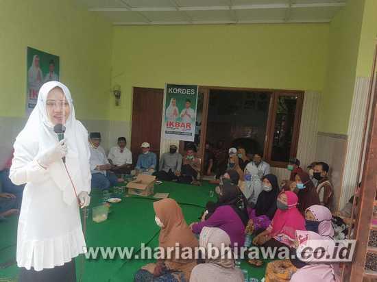 IKBAR Kampanye di Kampung Ketua Hanura Kabupaten Mojokerto