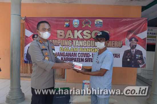Cegah Covid-19, KTS Desa Paowan Panarukan Digerojok Bantuan Sembako