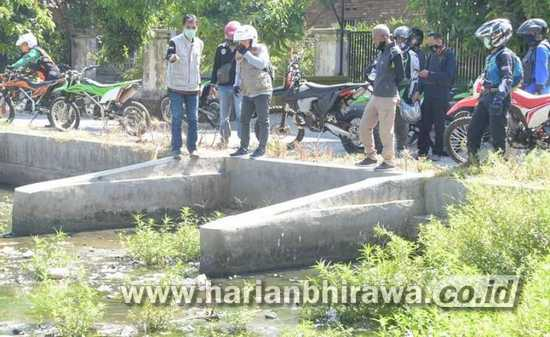 Hadapi Musim Penghujan, Bupati Telusuri Sungai Langganan Banjir