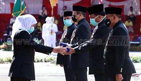 Diapresiasi Presiden, Jatim Jadi Percontohan Pengendalian Covid-19 Nasional
