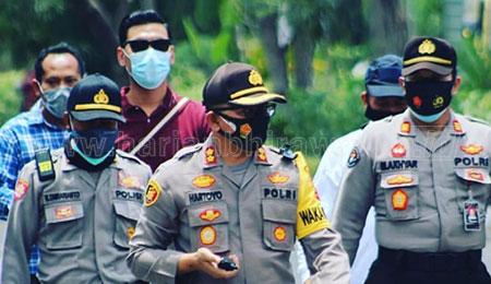 3.790 Personel Polrestabes Amankan Unras Omnibus Law