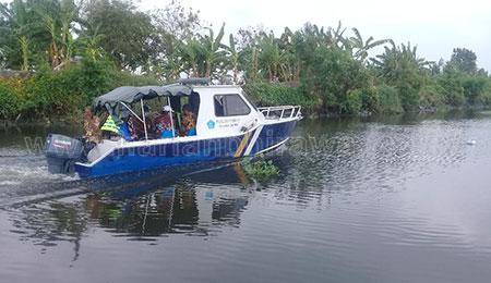 Mengikuti Pj Bupati Hudiyono Tilik SD Negeri Terpencil di Sidoarjo