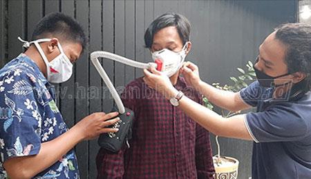 Tambahkan Filter Udara, ITTelkom Kembangkan Masker Portabel