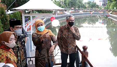 Mendes PDTT Tunjuk Jatim Jadi Pilot Project LKD