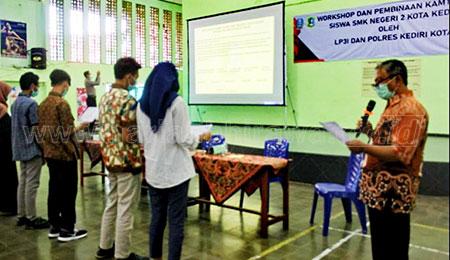 Deklarasi Cinta Damai, Komitmen SMKN 2 Kota Kediri Jaga Kamtibmas
