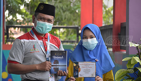 Aiko, Siswi SD Limas Surabaya Masuk 50 Besar Penulis Cerpen Terbaik Lomba Nasional