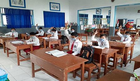 10 Sekolah di Kab Probolinggo Gelar PTM
