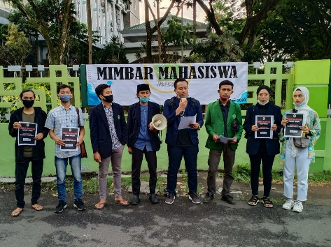Peringatan Sumpah Pemuda, Mahasiswa Surabaya Kirim Surat ke Presiden Jokowi