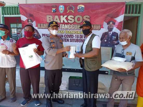 Kunjungi KTS Panji Permai Situbondo, Beri Bantuan Sembako
