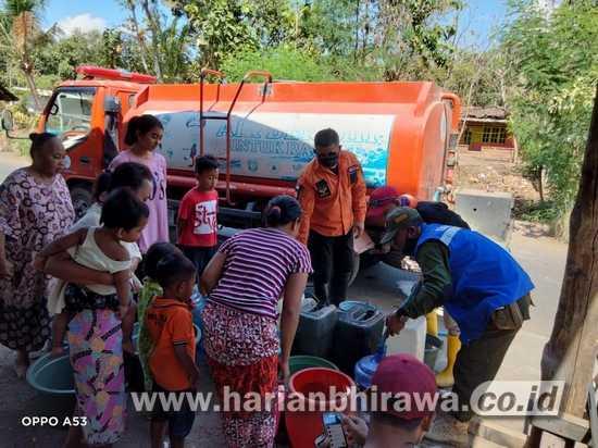 Alami Kekeringan, BPBD Situbondo Suplai Air Bersih Desa Terdampak