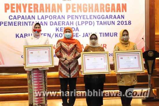 Kota Mojokerto Raih 10 Besar Penghargaan LPPD Terbaik Tingkat Jatim