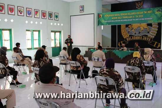 Masuki Triwulan III, Kodim 0823 Situbondo Gelar Komsos Bersama KBT