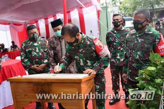Pangdam V Brawijaya Resmikan Koramil Grabagan Tuban