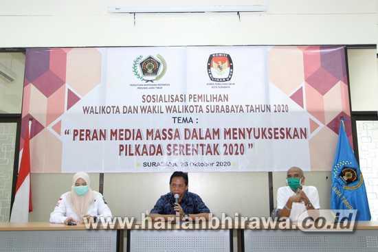 PWI Jatim Ajak Insan Media Jaga Netralitas dalam Pilkada Serentak