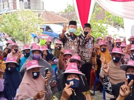 Fatayat dan Muslimat NU Kecamatan Solokuro Dukung Cabup Yuhronur dan Cawabup Kiai Rouf