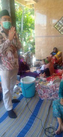 "Calon Wakil Bupati Sidoarjo Taufiqulbar ""Sentuh"" Muslimat Sedati"