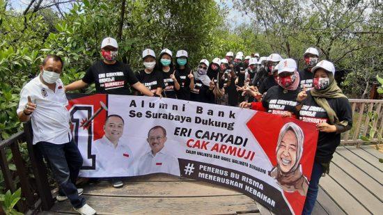Eri Cahyadi-Armuji dapat Suntikan Dukungan Alumnus Bank se-Surabaya