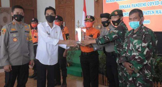 Kepala BPBD Apresiasi Desa Durenan Desa Terbaik