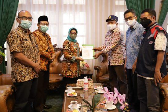 Bupati Terima Kunjungan BBPJN Jatim-Bali Terkait Pembangunan Jembatan Ploso