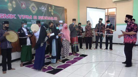 HSN 2020 Jadi Momen Tingkatkan Spiritual Siswa SMK YPM 8 Sidoarjo