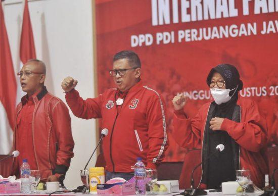 Hijaunya Surabaya di Tangan Risma, Hasto: Akan Dilanjut dan Dikembangkan Eri-Armuji