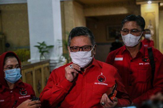 Hasto: Bambang DH, Puti Soekarno, Indah Kurnia Bergerak Menangkan Eri-Armuji