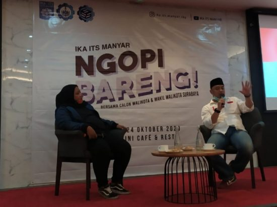 Cawali Surabaya Eri Cahyadi: Pantau Kesejahteraan Warga dengan Big Data