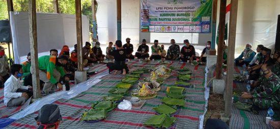 Genduri Sungai, LPBI Kabupaten Ponorogo Tetap Patuhi Prokes Covid-19