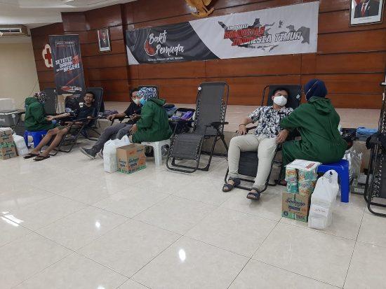 Belasan Klub Motor Kota Surabaya  Kompak Gelar Donor Darah Serentak
