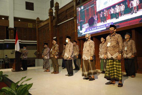 Jelang MTQ se-Kabupaten Tuban Ke-XXIX, 43 Hakim Diambil Sumpah Janji