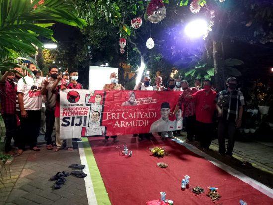 Survei Eri-Armuji Unggul 6%, Posko di Kampung Makin Marak di Surabaya