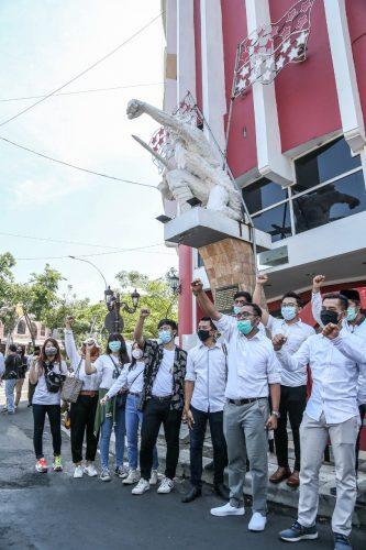 "Sejumlah Influencer Muda Deklarasikan ""Surabaya Berenerji"""