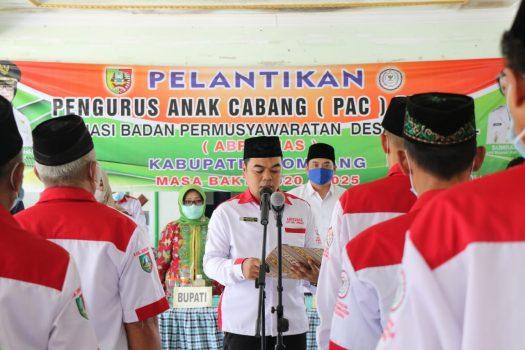 Bupati Jombang Hadiri Pelantikan PAC ABPENAS Ploso Masa Bakti 2020 – 2025
