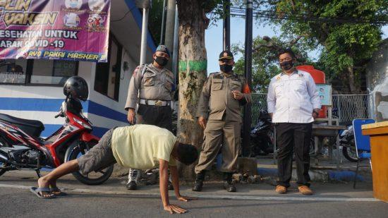 33 Pelanggar Prokes Terjaring Razia Yustisi di Kabupaten Jombang
