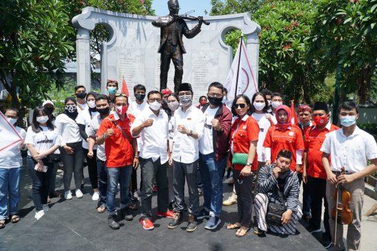 Perjuangkan Gagasan Kepemimpinan Anak Muda, TMP Bacakan Sumpah Pemuda di Lokasi Bersejarah