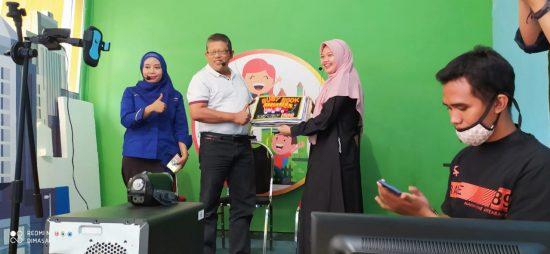 Dispusip Surabaya Rayakan Bulan Bahasa dan Sastra dengan Launching Buku Cerita Ajaib
