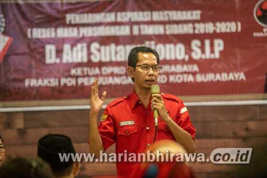 PDIP Surabaya dan Relawan Eri-Armuji Bikin Gerakan Coblos No 1 di TPS