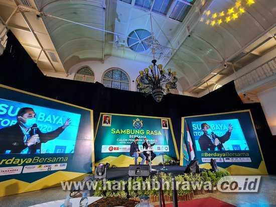 Diskusi Gayeng, Kadin Surabaya Sebut Eri Cahyadi Pemimpin Ramah Bisnis