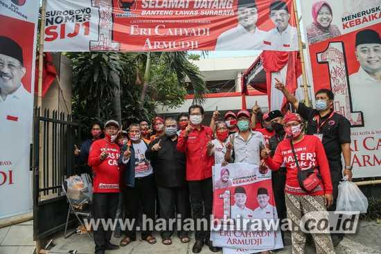 Banteng Lawas Menyatu, PDIP: Menangkan Suara Wong Cilik di Pilkada Surabaya