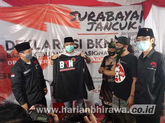 Dihadapan BKN, Eri Cahyadi Komitmen Bangun Surabaya jadi Kota Berkarakter