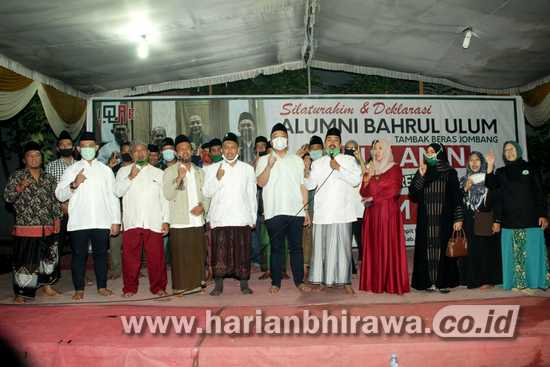 Paslon QA Peroleh Dukungan Alumni Ponpes Bahrul Ulum Jombang