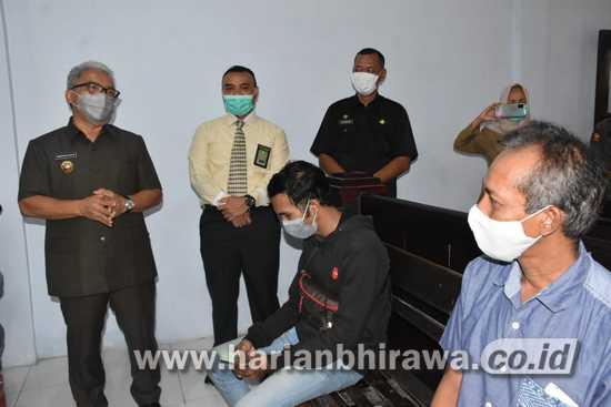 Pjs Bupati Mojokerto Tilik Sidang Yustisi Pelanggar Protokol Kesehatan